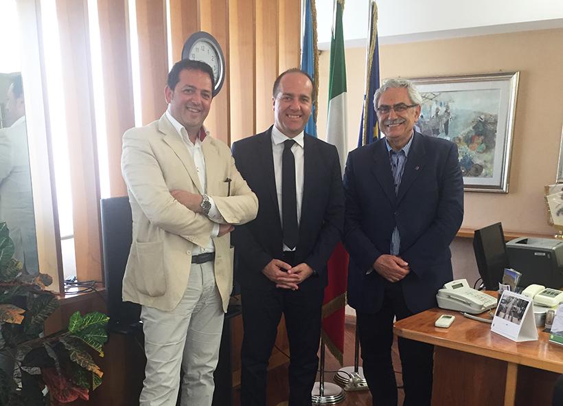 Isernia: il presidente del Consiglio regionale del Molise fa visita a Coia. Presente anche il consigliere Matticoli.