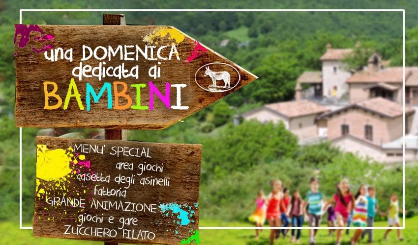 """Sesto Campano: al Villaggio Rurale """"Le Sette Querce"""" una domenica dedicata ai bambini."""