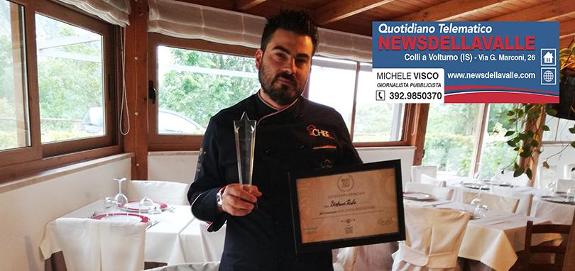 Stefano Rufo in gara al Cous Cous Festival di San Vito Lo Capo. Competizione di livello mondiale.