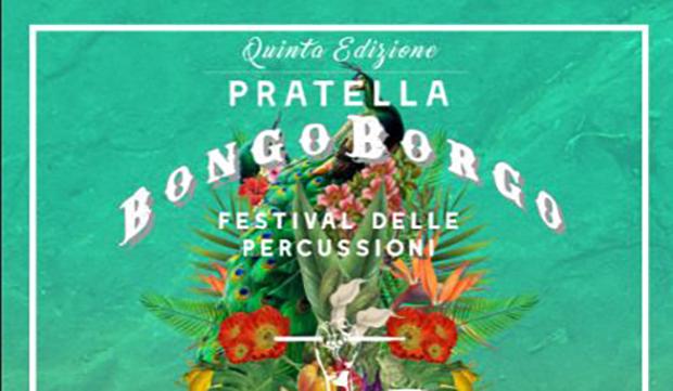 """Bongo-Borgo, L'unico festival delle percussioni del sud, a Pratella. Direttamente da """"Ballando con le stelle"""" Maykel Fonts"""