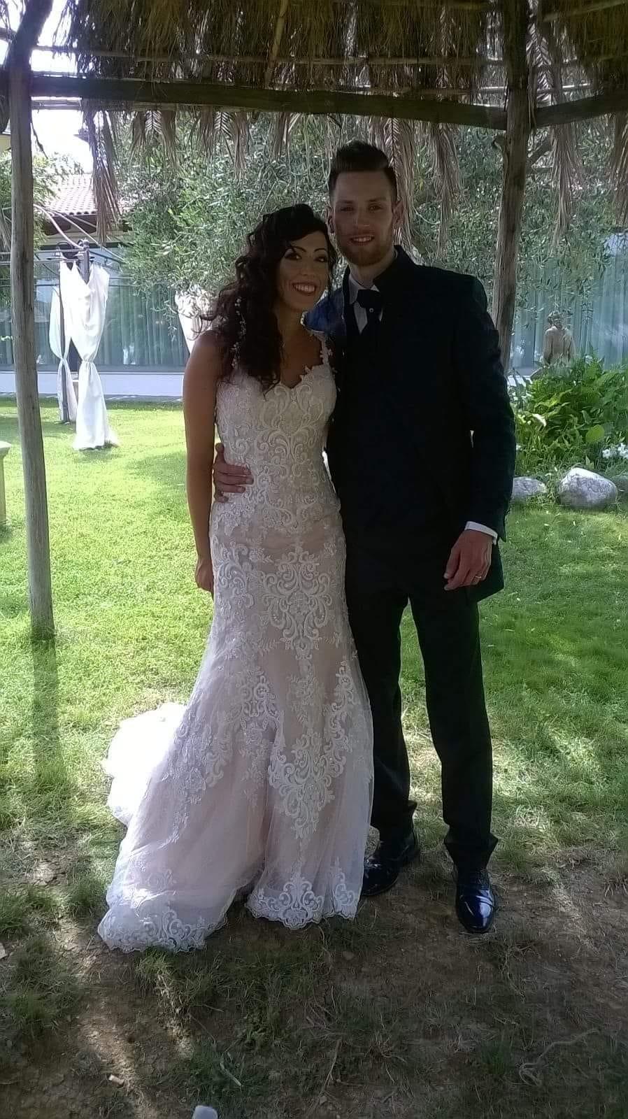 L'Angolo degli auguri: festeggiamo oggi gli sposi Christian ed Enrica.