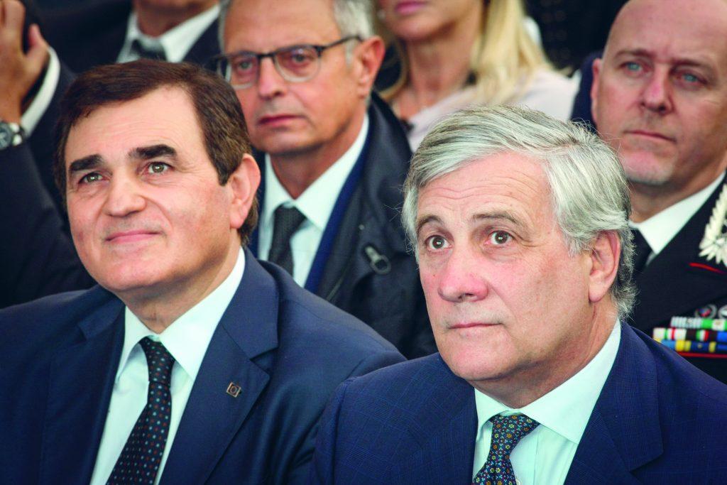 """Forza Italia, riparte da Pescara. Parte il nuovo corso di Tajani. Patriciello: """"Con lui il partito puó risalire la china""""."""