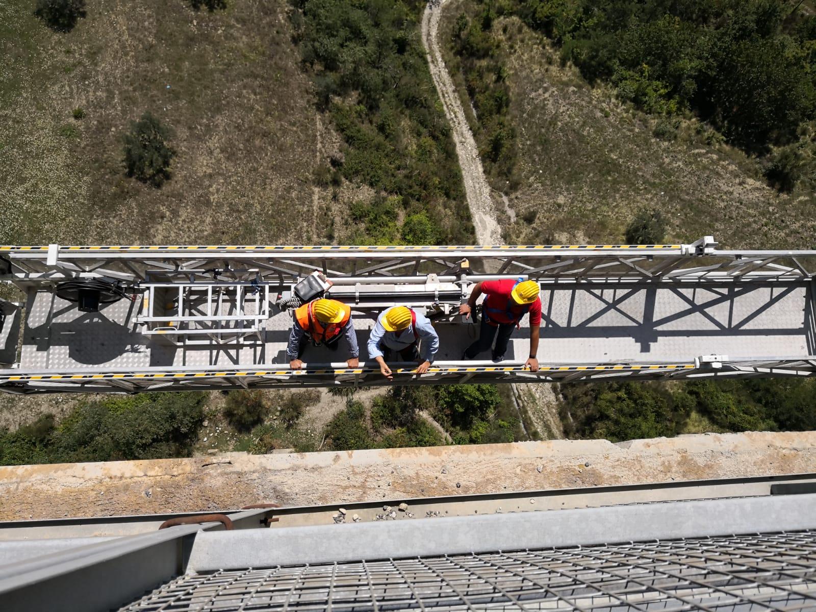 Viadotto Sente , l'Ordinanza di chiusura ufficiale da parte del settore tecnico della Provincia. Il ponte verrà riaperto dopo gli urgenti lavori inerenti la sicurezza.