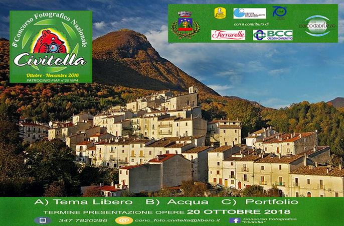 Arte e fotografia a Civitella Alfedena lanciato il Bando per il Concorso Fotografico Nazionale Civitella