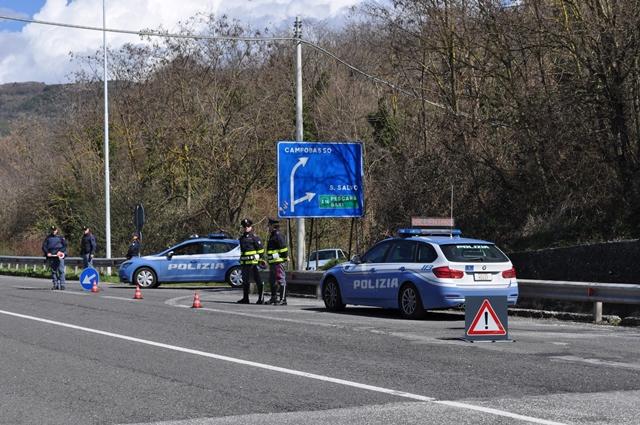 Cantalupo nel Sannio: Polizia Municipale e Polizia Stradale di Isernia collaborano nel controllo degli automobilisti.