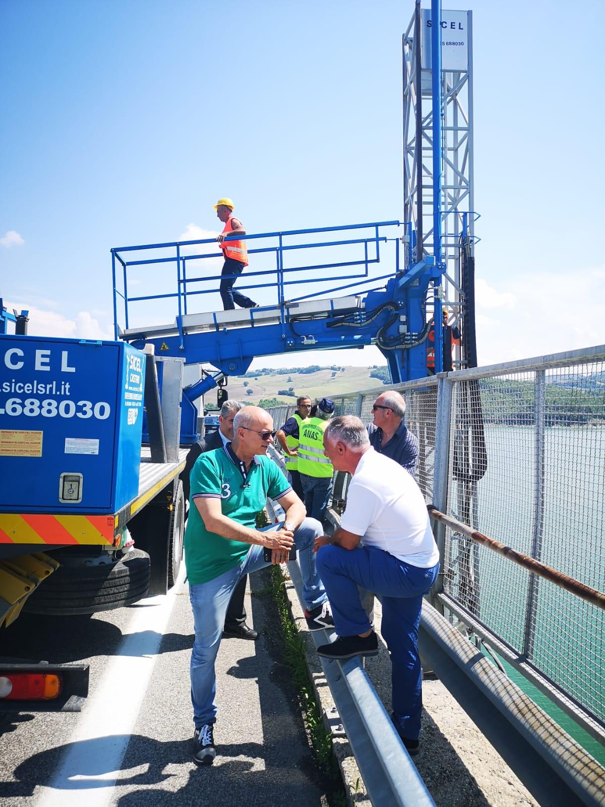 Bifernina: la diga del Liscione riapre al traffico. Viabilità ripristinata anche se con numerosi vincoli.
