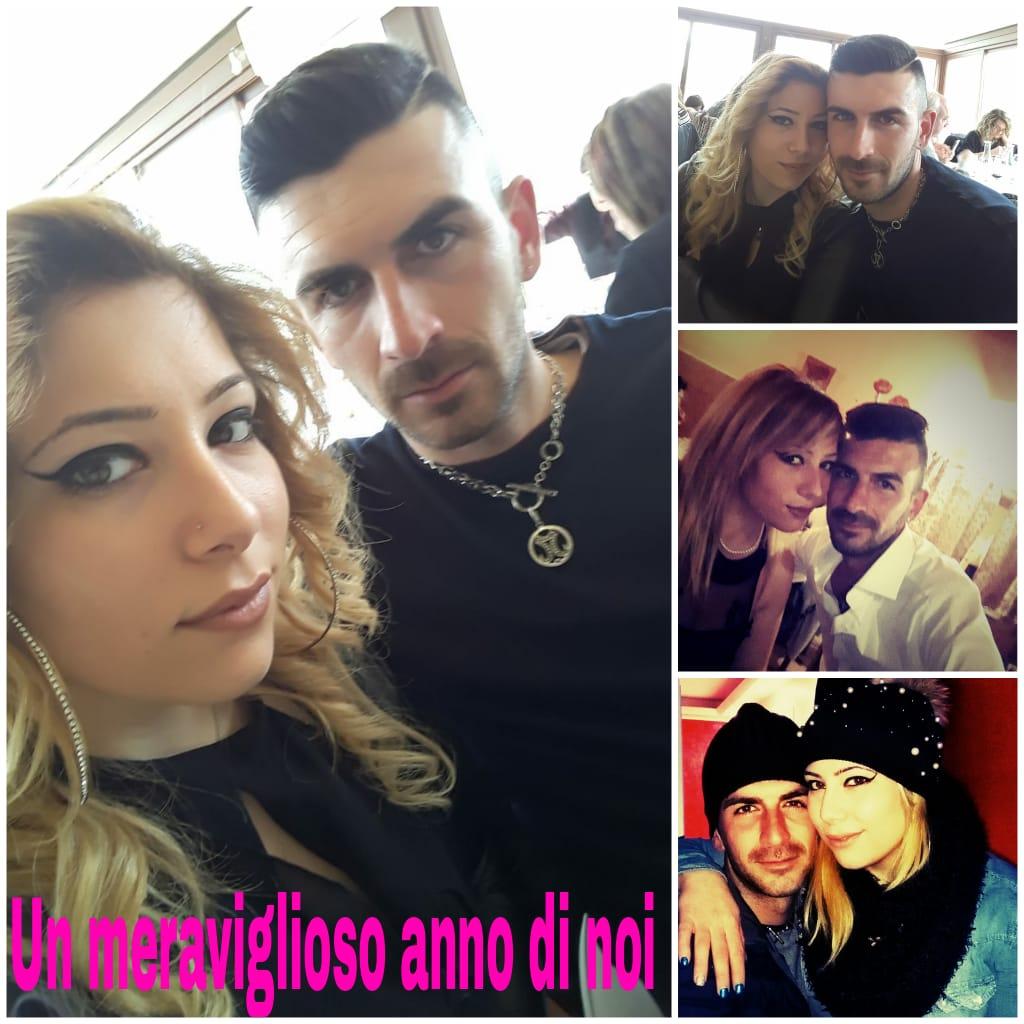 L'Angolo degli Auguri: un anno d'amore per Mariagrazia e Stefano.