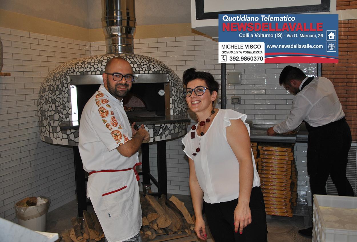 Isernia: inizia l'avventura di Napul'è nel capoluogo di provincia. Ieri sera l'inaugurazione del ristorante – pizzeria su Corso Garibaldi.