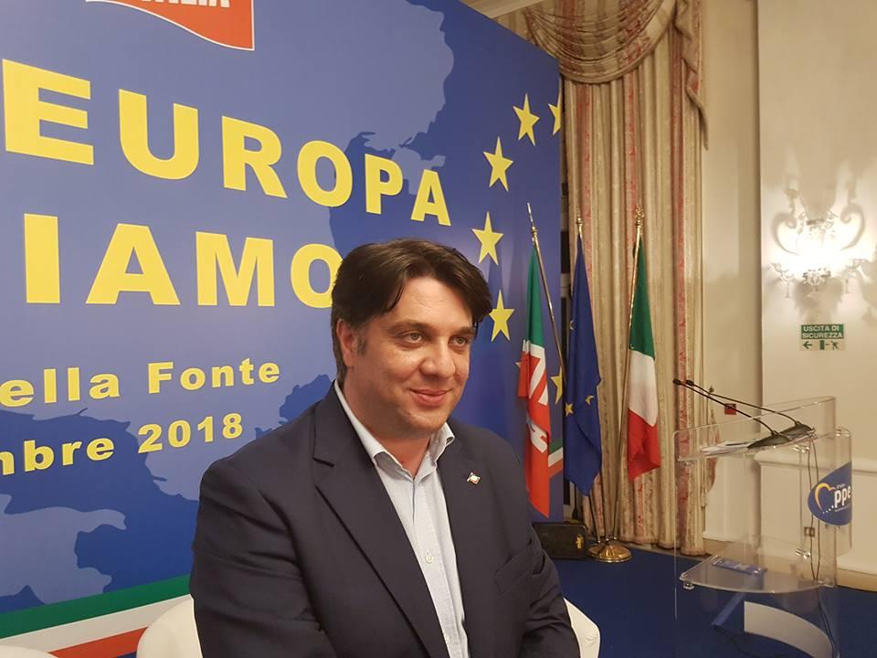 """Fiuggi: premiata la proposta di legge """"Io lavoro in Italia"""" dell'Assessore regionale Roberto Di Baggio."""