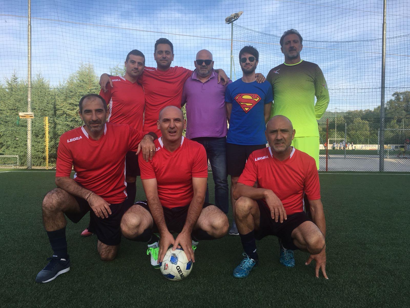Sporting Manocchio: l'over 40 inizia col botto per la Pininho Team di mister Fiore. Battuta la Longobarda per 6-1