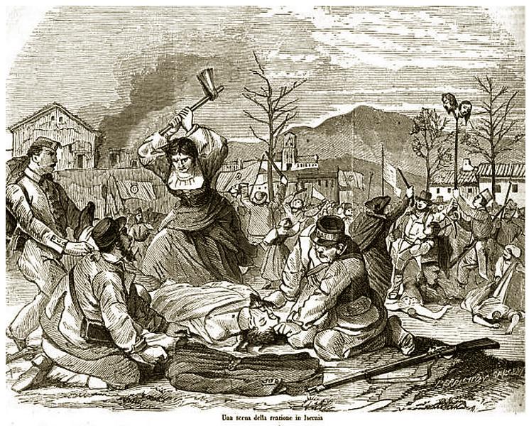 Isernia: i moti reazionari del 30 settembre 1860. Isernia ricorda i tragici eventi.