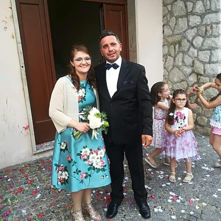 L'Angolo degli Auguri: festeggiamo quest'oggi i novelli sposi Letizia e Angelino. Gli auguri della nostra redazione.