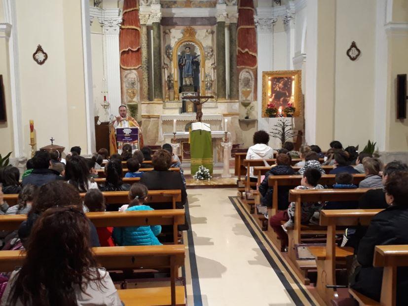 """Colli a Volturno: celebrata la 92°esima giornata mondiale per le Missioni dal tema """"Giovani per il Vangelo""""."""