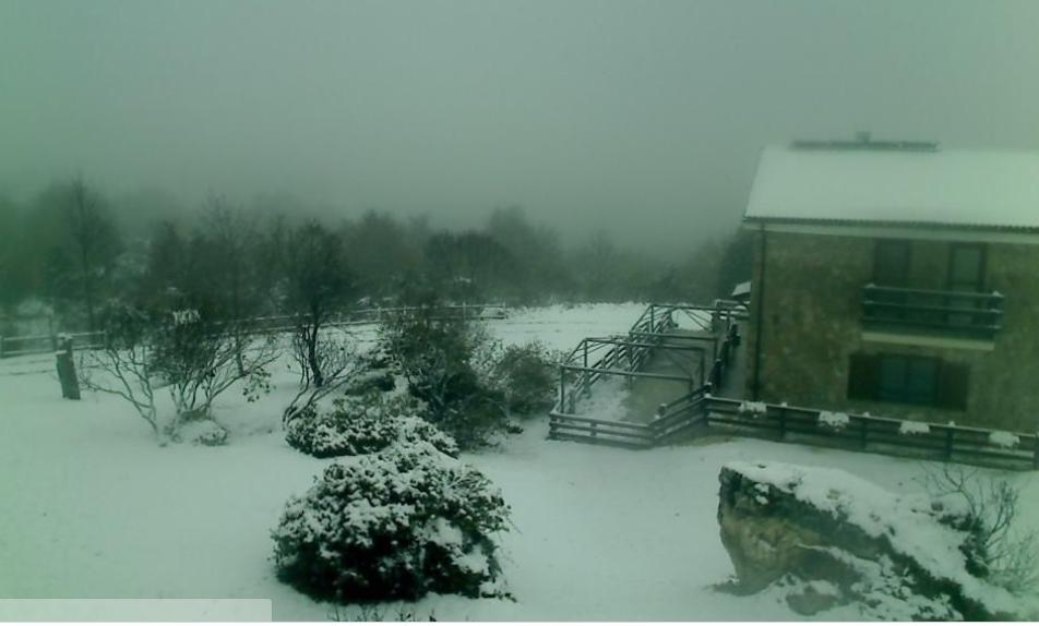 Alto Molise e Mainarde imbiancate. Il generale inverno anticipa la sua venuta. Temperature in calo.