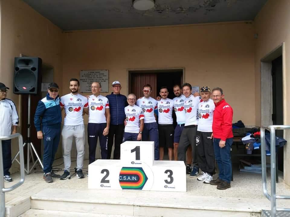 Ciclismo: successo per la gara a cronometro promossa da G.C. Pentria Isernia e Csain. A trionfare Salvatore Amorosa.