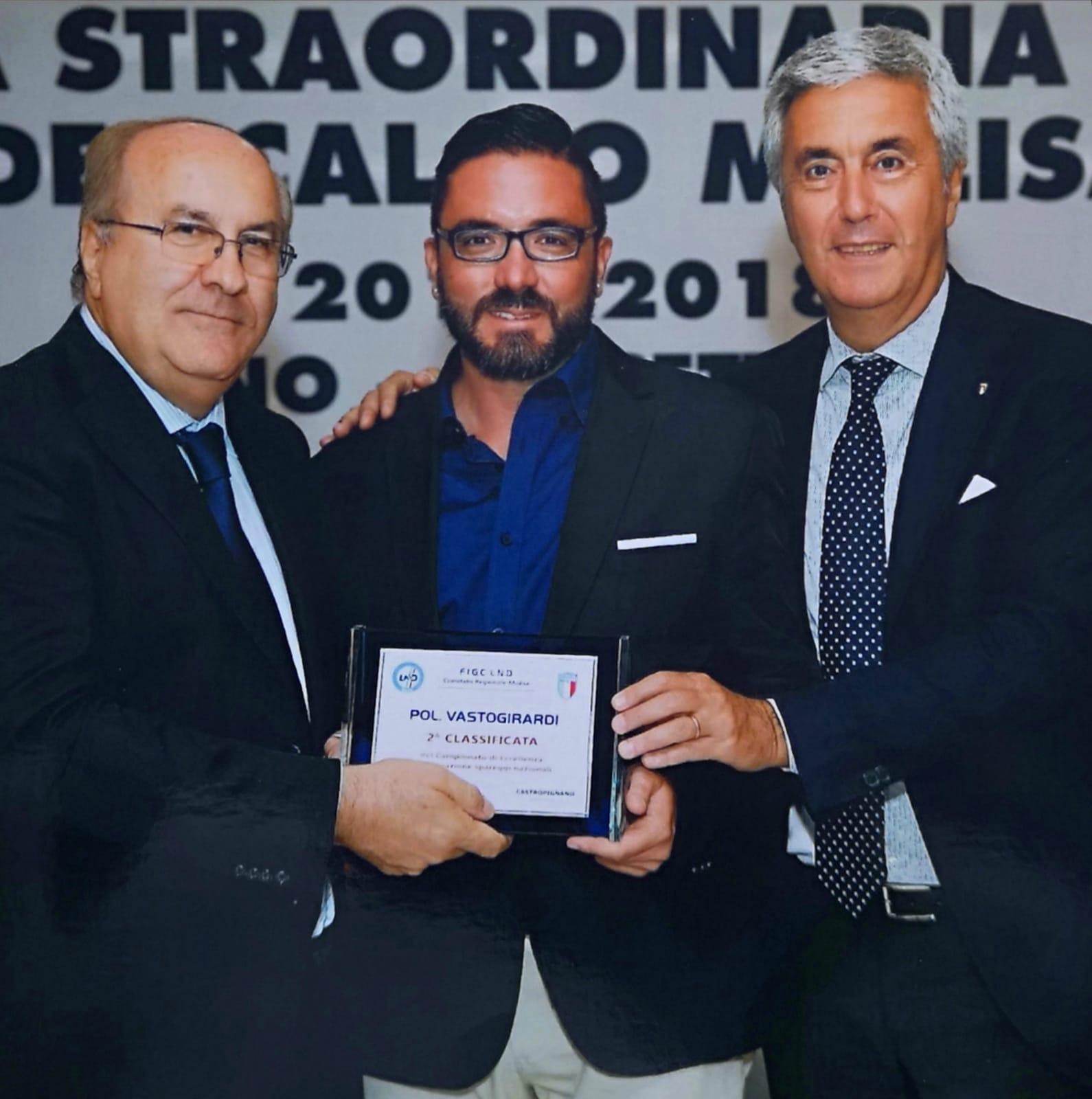 """Vastogirardi: """"Mister Farina sta facendo un grande lavoro. Dobbiamo continuare su questa strada"""". Antonio Crudele presenta la sfida contro il Termoli."""
