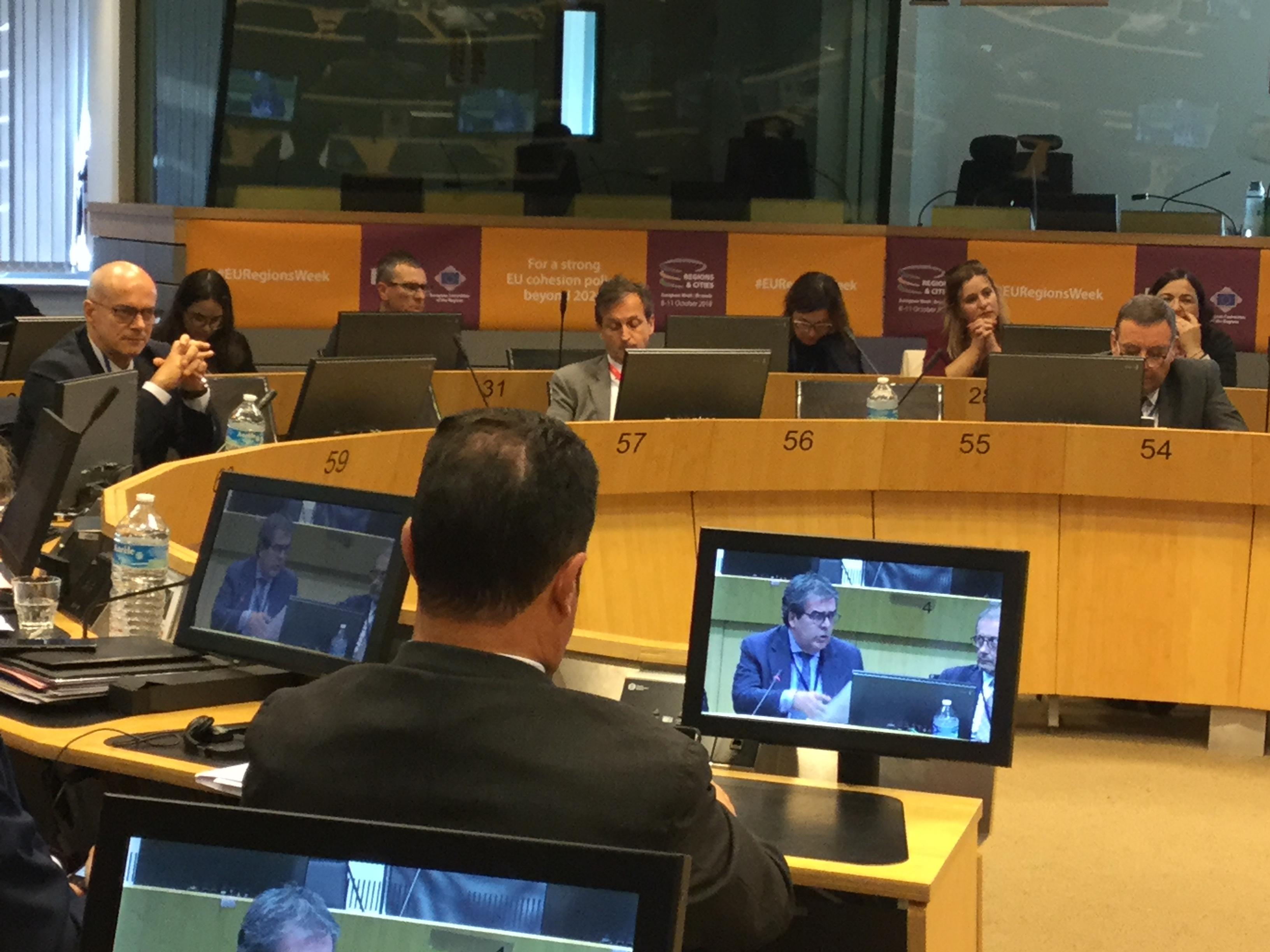 Comitato europeo delle regioni, Toma: «Dare voce ai territori» .