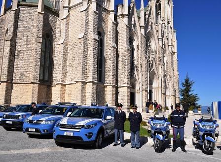 Isernia: la Polizia di Stato  ha celebrato il santo protettore Michele. Evento presso la basilica minore dell'Addolorata di Castelpetroso.