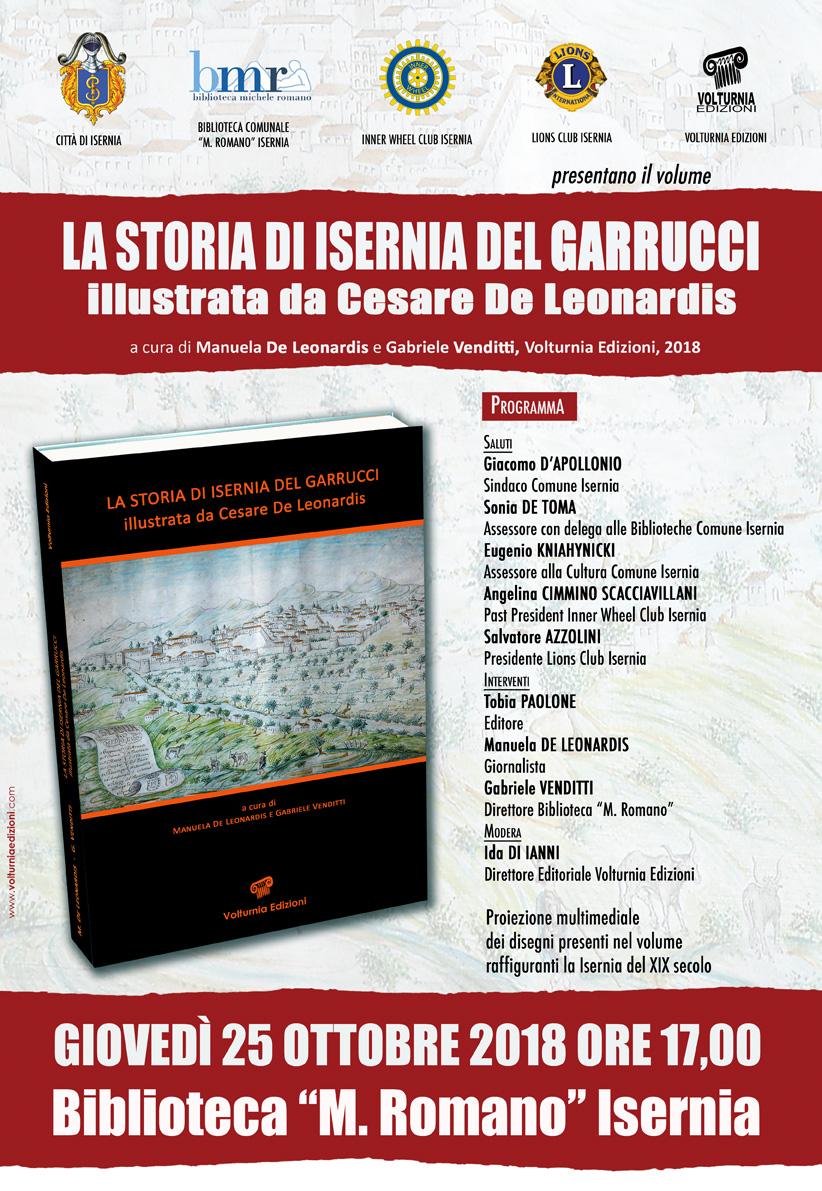 Isernia: la storia della città di Raffaele Garrucci illustrata da Cesare De Leonardis. Giovedì la presentazione del volume.