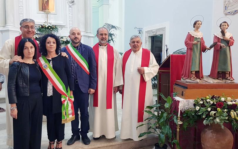 Isernia e Sant'Elia Fiumerapido unite nel culto dei santi Cosma e Damiano.
