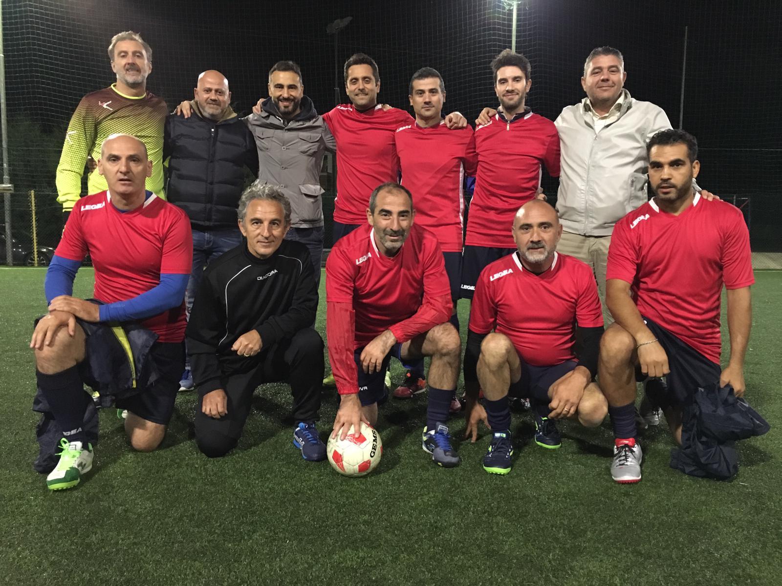 Carpinone: allo Sporting Manocchio è dominio della Pininho Team nel torneo over 40. La formazione di Pino Fiore fa nove su nove e chiude il girone d'andata a punteggio pieno.