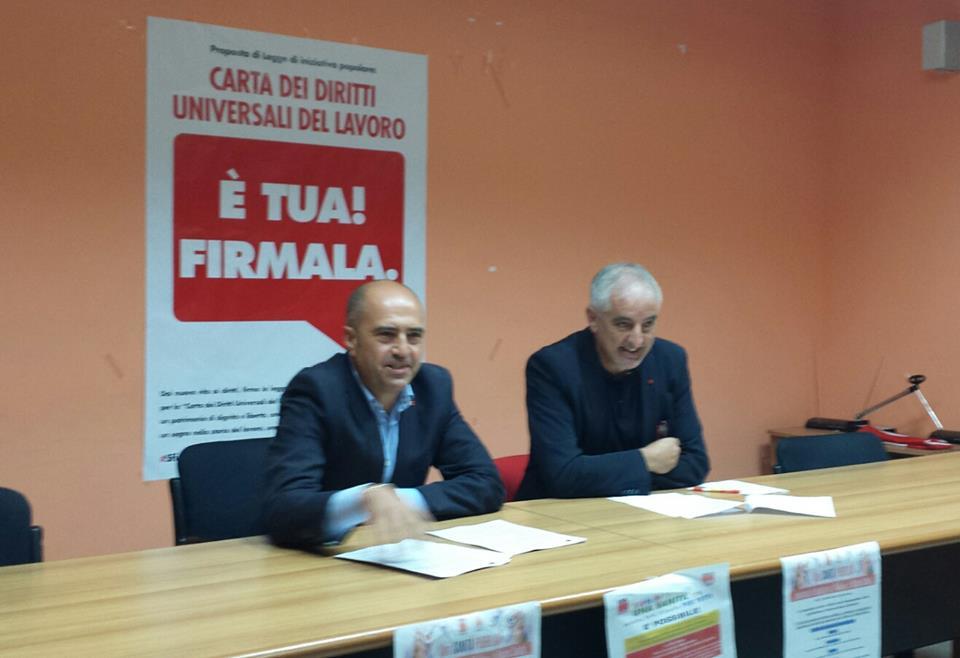 Campobasso: Paolo De Socio eletto segretario generale della Camera del lavoro territoriale del Molise.
