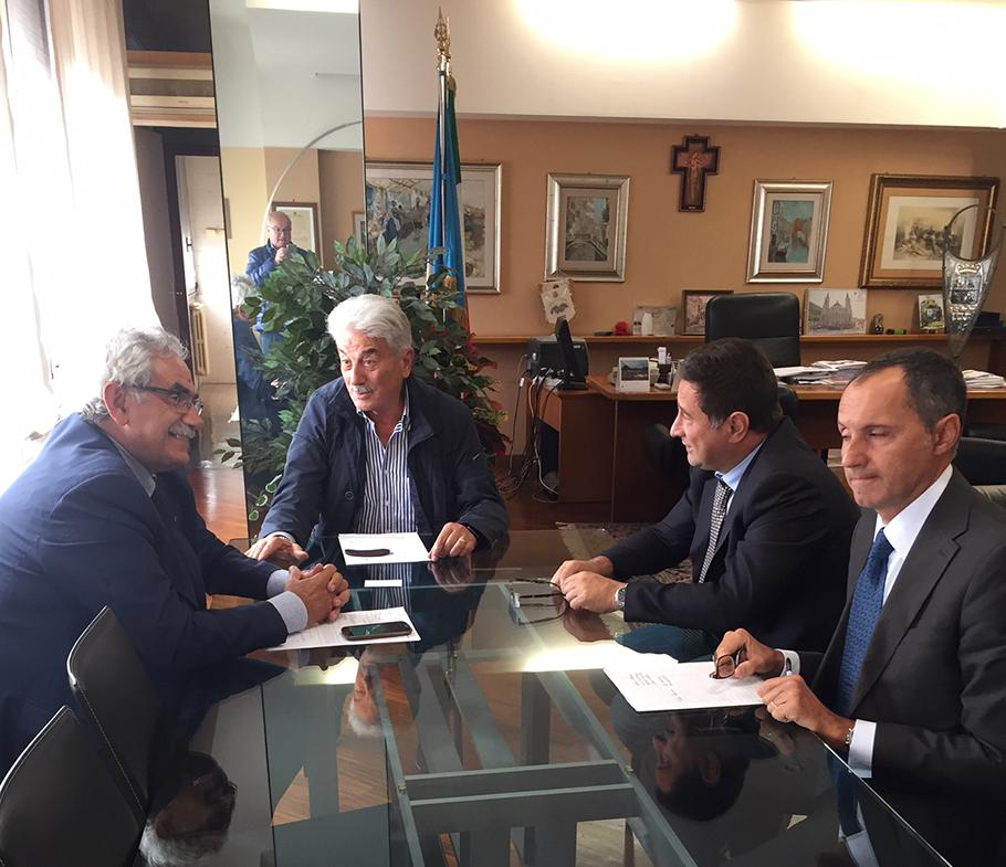Coia e Fantozzi incontrano i dirigenti Enel per evitare ulteriori soppressioni di unità operative al territorio molisano.