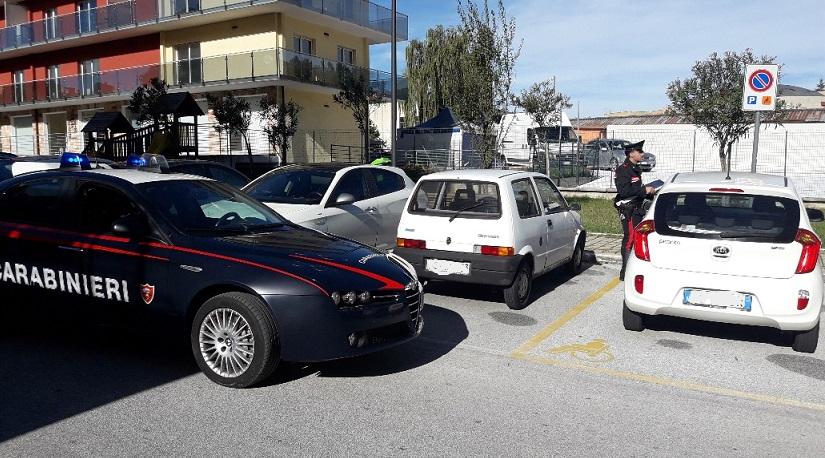 Isernia: Parcheggi abusivi negli stalli per disabili, 12 multe dall'inizio del mese.
