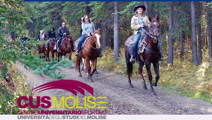 Cus Molise, parte il corso di equitazione di campagna endourance.
