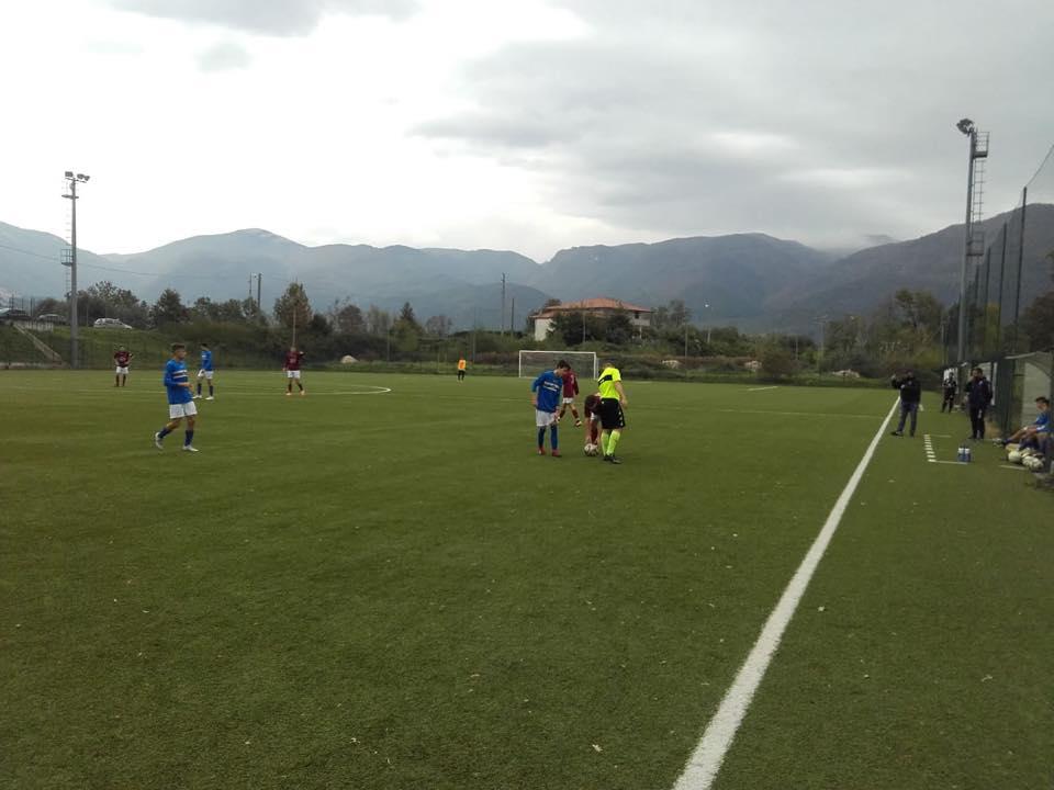 Calcio giovanile: due buoni pareggi per la Boys Roccaravindola con Allievi e Giovanissimi entrambi con Olimpia Agnonese e Fraterna.