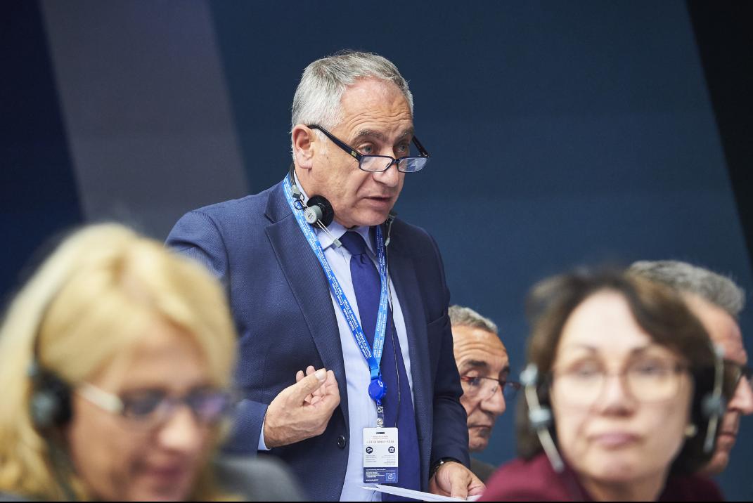 Vincenzo Niro eletto primo vice presidente della Commissione Affari Correnti del Consiglio d'Europa.