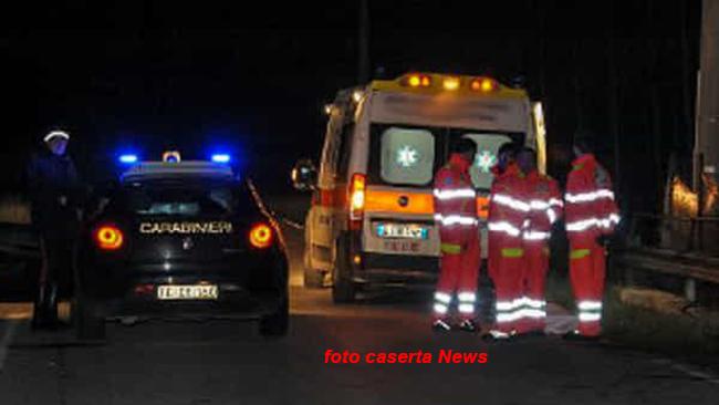 Mondragone: travolge con l'auto un 26enne bulgaro e lo uccide. Alla guida 24enne originario di Isernia sotto effetto di droga.