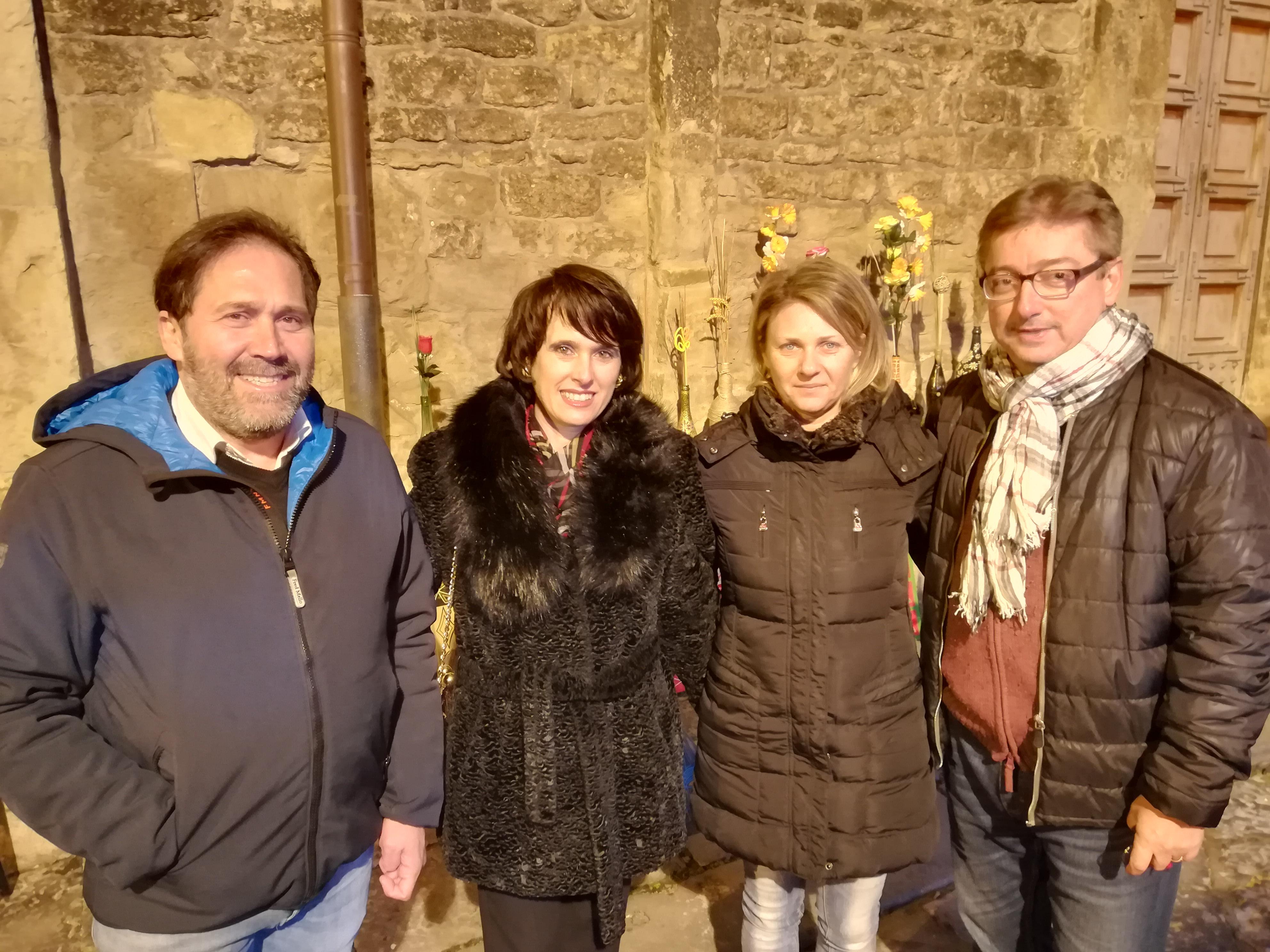 Romagnuolo: A Guglionesi con il sindaco Bellotti e il vice Senese per discutere di terremoto.