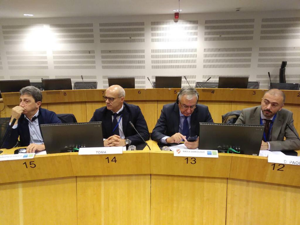 Comitato delle Regioni, Toma presidente del Gruppo adriatico-ionico