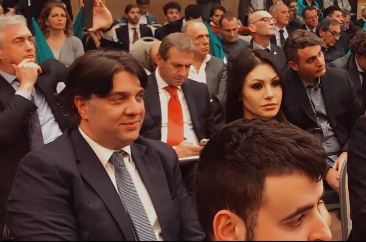 Tartaglione e Di Baggio a Roma con Berlusconi per la presentazione della contromanovra per il rilancio dell'Italia.