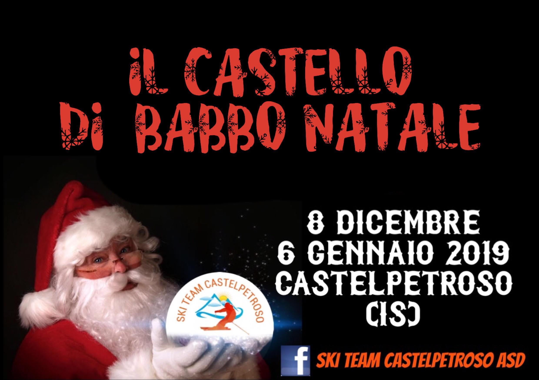 """""""Una Montagna di Feste…"""" da trascorrere con lo Ski Team Castelpetroso Asd. Si parte con il secondo winter Party. Sabato 8 dicembre la mega inaugurazione del Castello di Babbo Natale."""