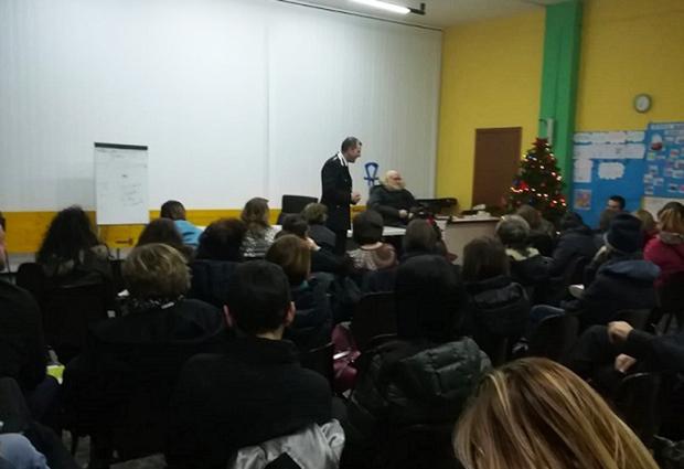 """Venafro: truffe agli anziani proseguono le conferenze dei Carabinieri. L'ultima nella serata di ieri presso l'oratorio """"Don Orione""""."""