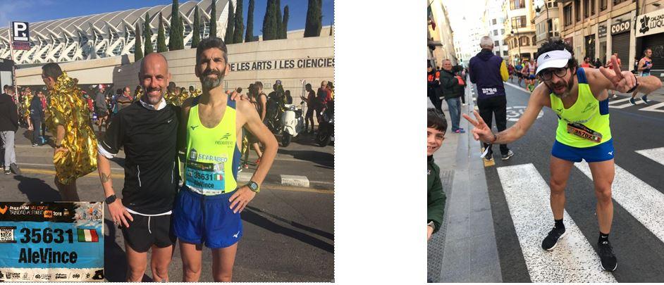 Free Runners Isernia: Vincenzo DI MONACO e Giuseppe OLIVE tra i partecipanti alla Maratona di Valencia