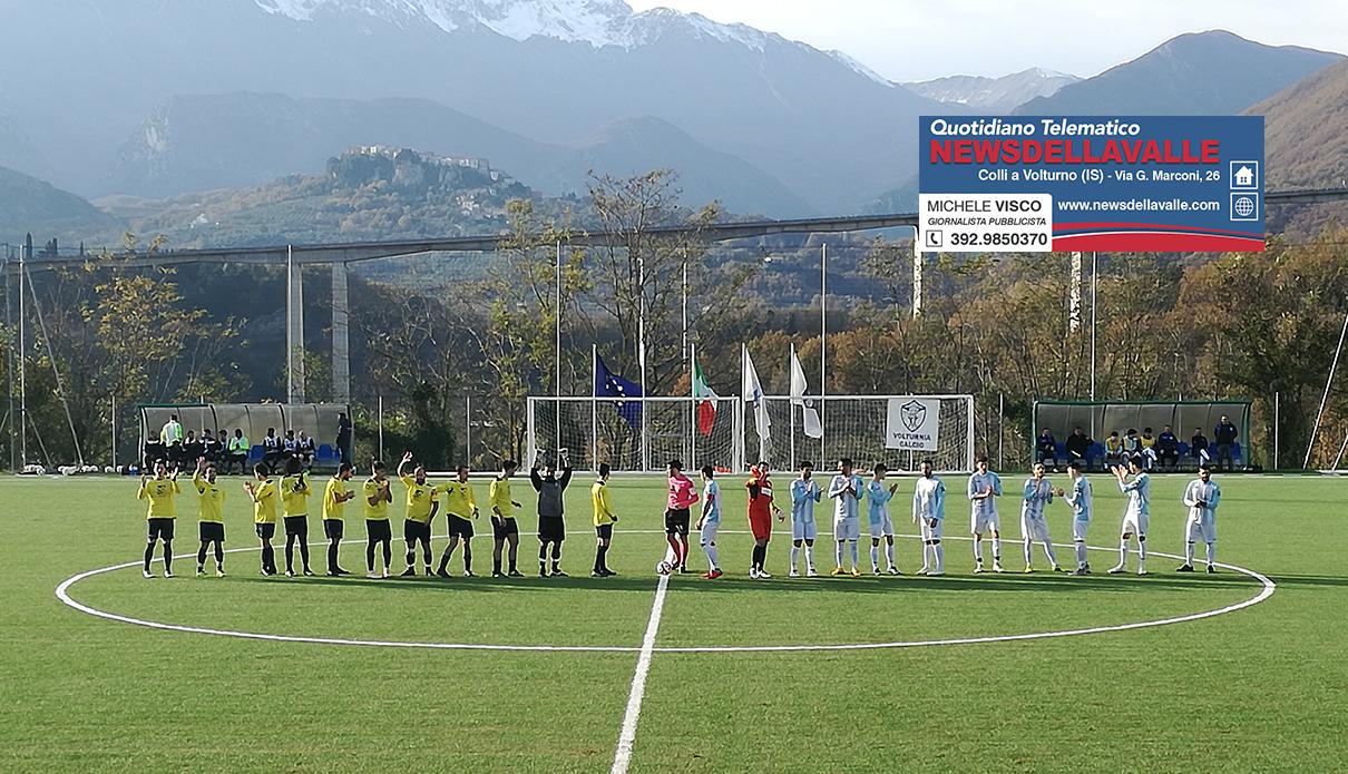 Calcio : prima categoria, la Volturnia calcio prima della sosta natalizia sfida in casa il Vairano.