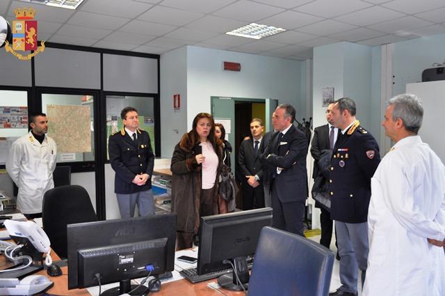 Isernia: il Prefetto Guercio in visita presso la sede della Questura