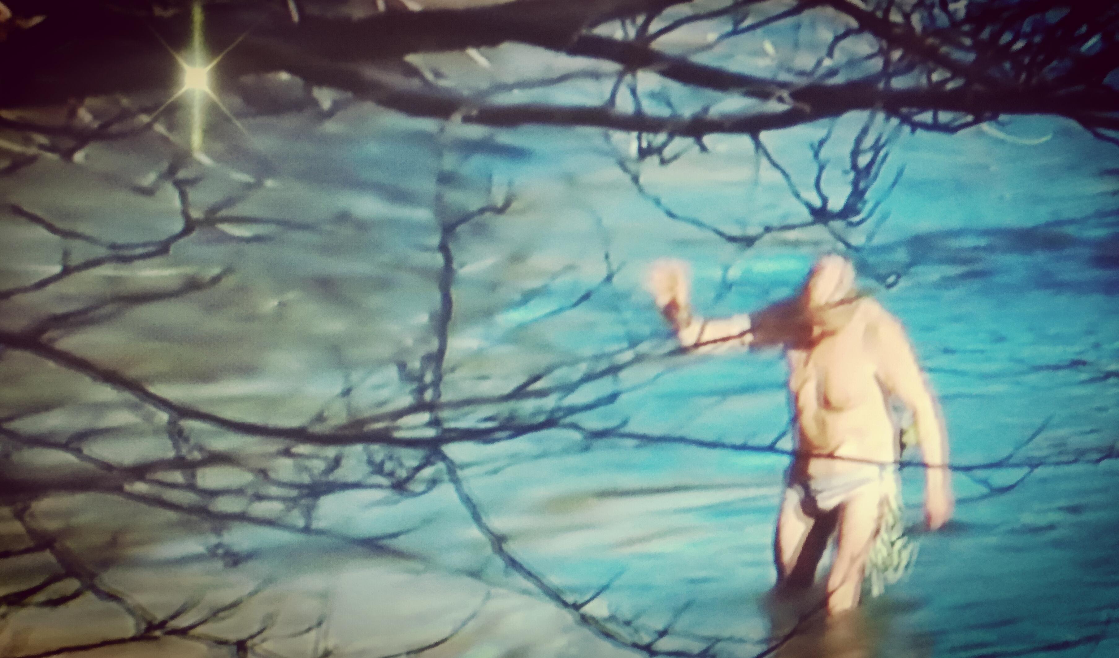 41anni di Gaetano Di Carlo e fiume Volturno. Il tuffo nelle acque gelide si è ripetuto anche ad inizio 2019