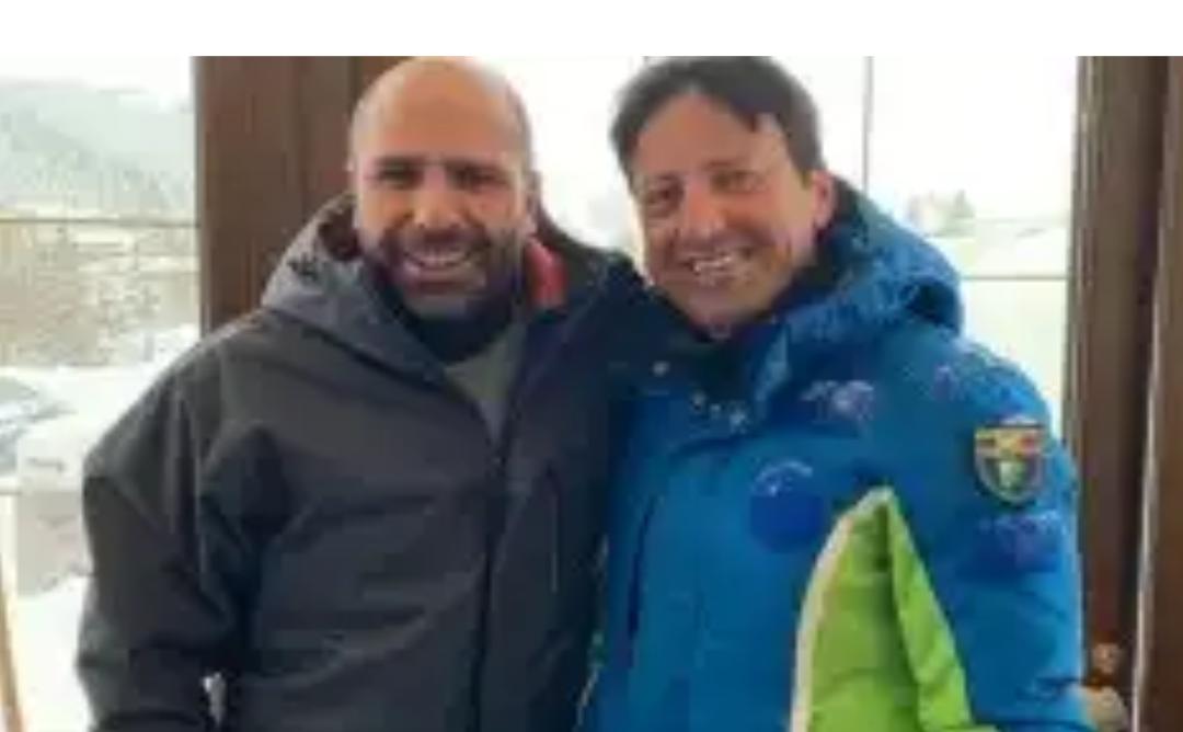Roccaraso: Checco Zalone rimane bloccato dalla neve, 'salvato' dal sindaco Di Donato.