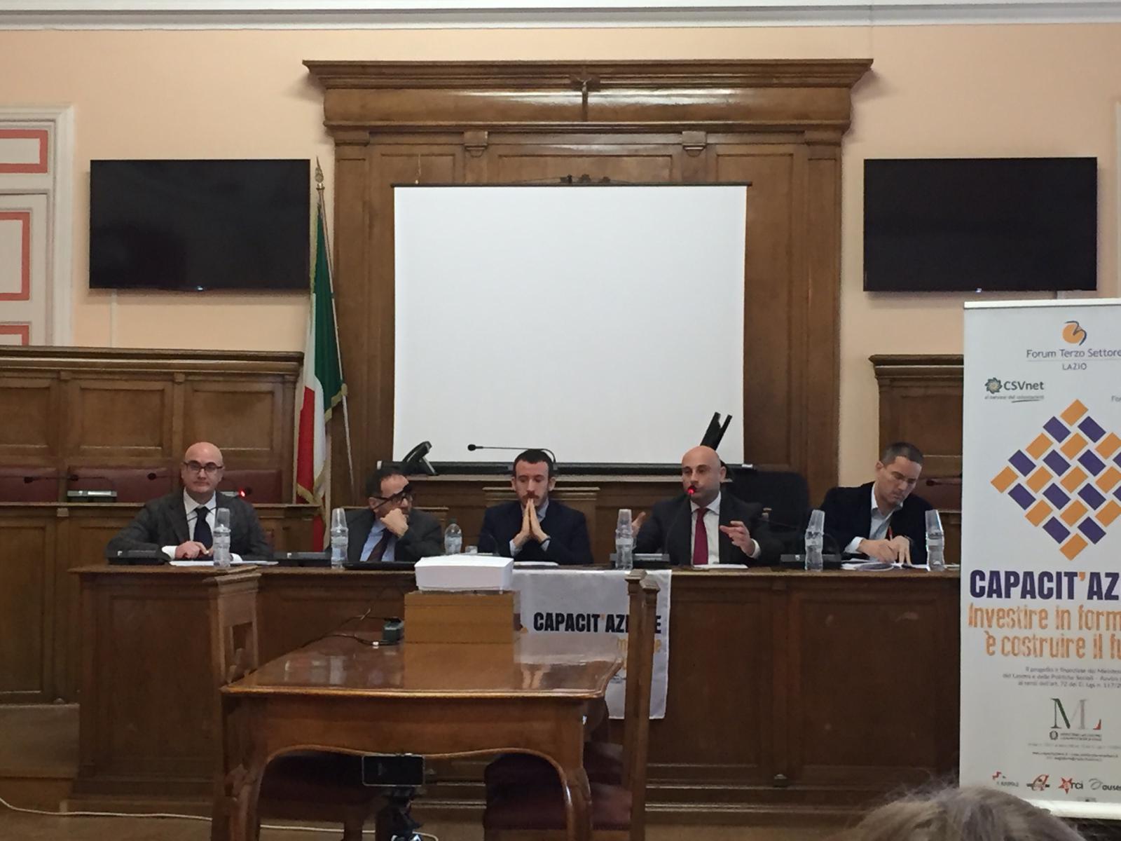 """Terzo settore, il Csv ha illustrato il progetto """"Capacit'Azione""""."""