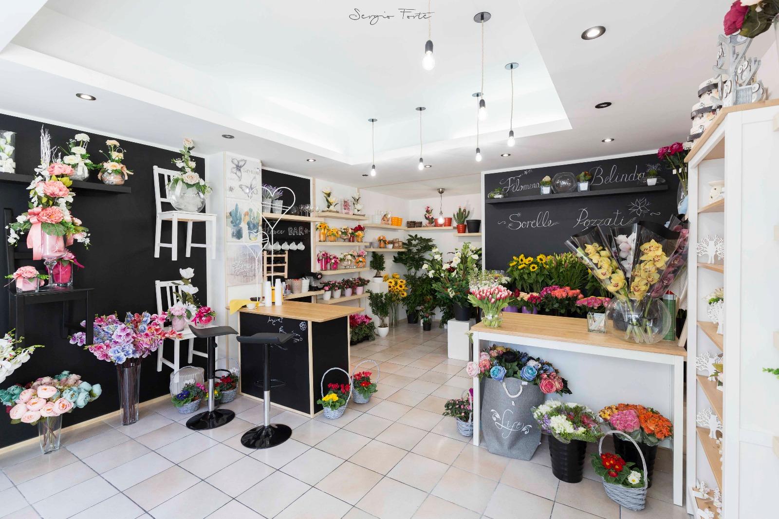 Isernia: arte floreale, regali e molto altro ancora. Inaugurato il Flower Bar delle Sorelle Pozzati.