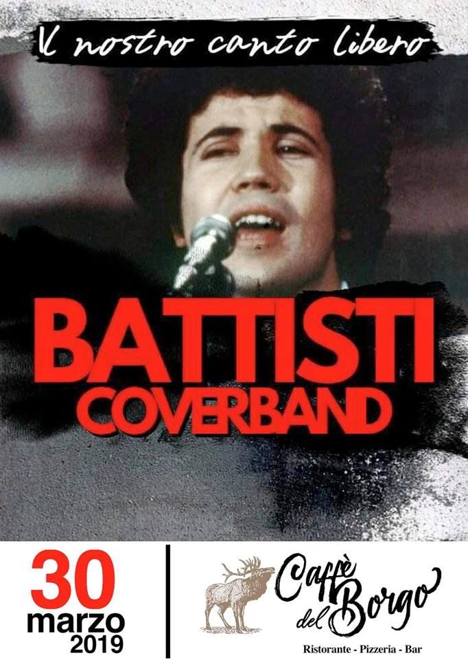 Filignano: al Caffè del Borgo un sabato in musica con l'esibizione della Cover Band dedicata a Lucio Battisti.