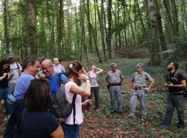 """Isernia: successo per l'evento denominato """"Alla Scoperta dell'Antico Mulino"""", proposto dai Carabinieri per la Biodiversità."""