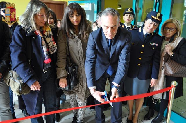 Isernia: inaugurata questa mattina la sala di ascolto riservato per vittime vulnerabili dedicata a Stefania Cancelliere.