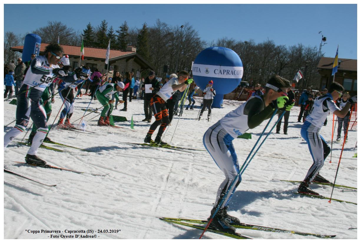 Sci di Fondo, apprezzamenti per la Coppa Primavera che si è disputata a Capracotta.