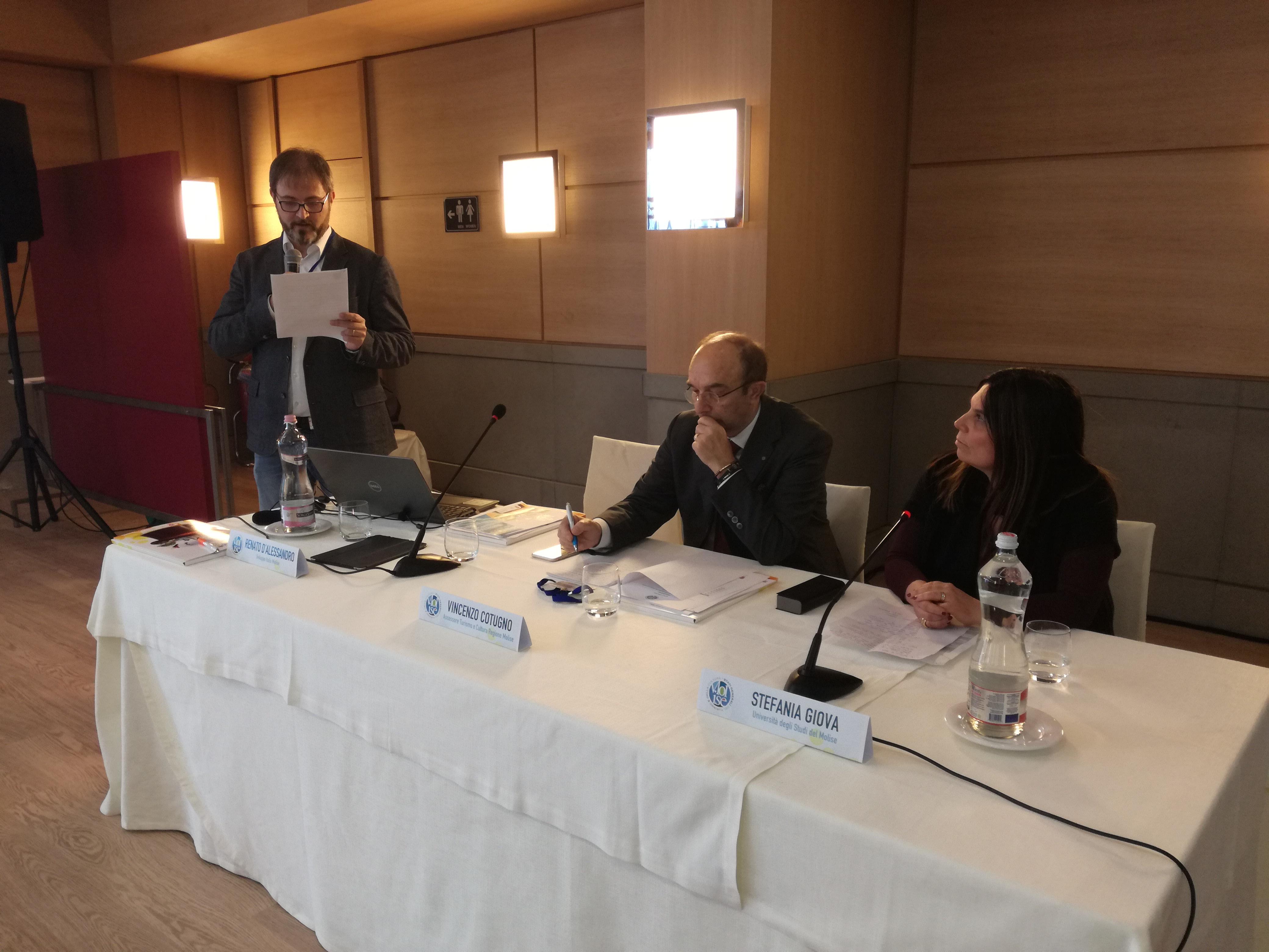 Pozzilli: Il Molise deve diventare una destinazione intelligente. Successo per il primo incontro degli Stati Generali del Turismo.