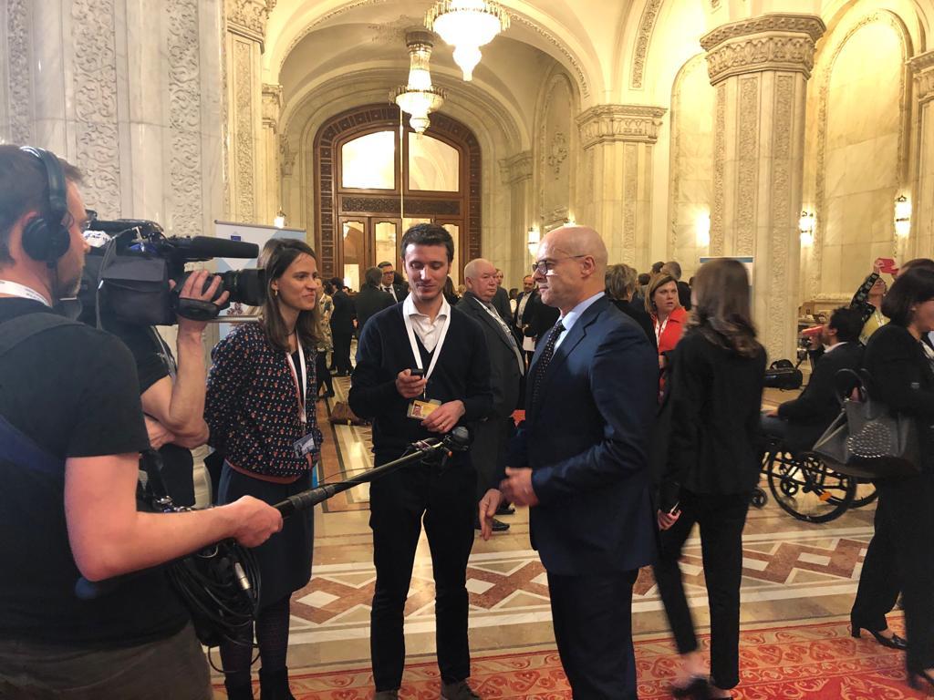 Bucarest, summit sulla nuova Europa alla presenza del governatore Donato Toma.